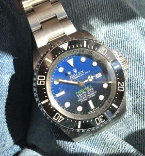 Rolexdeepseadblue60