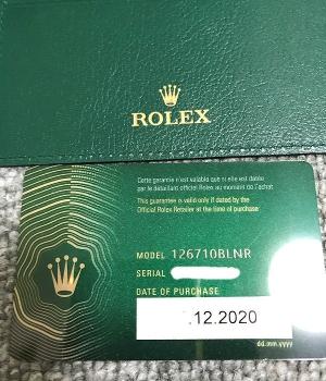 Rolexgmt126710blnr16